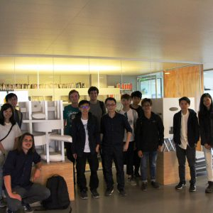 CUHK architecture students visiting OMA in Rotterdam