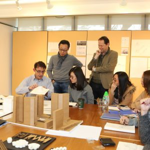 MArch Thesis Workshop with Mr. Simon Pickard (far left), Ove Arup & Partners Hong Kong Ltd.