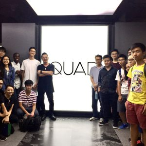 Guided tour to QUAD Studio