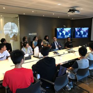 Guided tour to KPF Hong Kong office