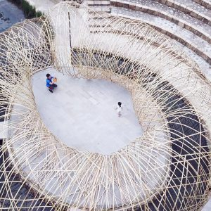 TOROO Pavilion – drone perspective