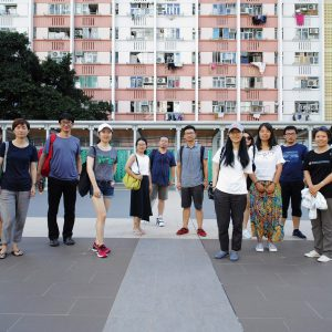 Guided tour of Hong Kong public housing