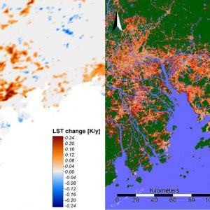 """Detecting Multi-temporal Land Cover Change and Land Surface Temperature in Pearl River Delta by Adopting Local Climate Zone"" by Meng Cai and Ran Wang"