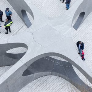 Collier Memorial by Höweler + Yoon (photo by Iwan Baan)