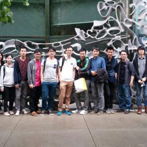 CUHK students visiting 40 Bond Street designed by Herzog & de Meuron