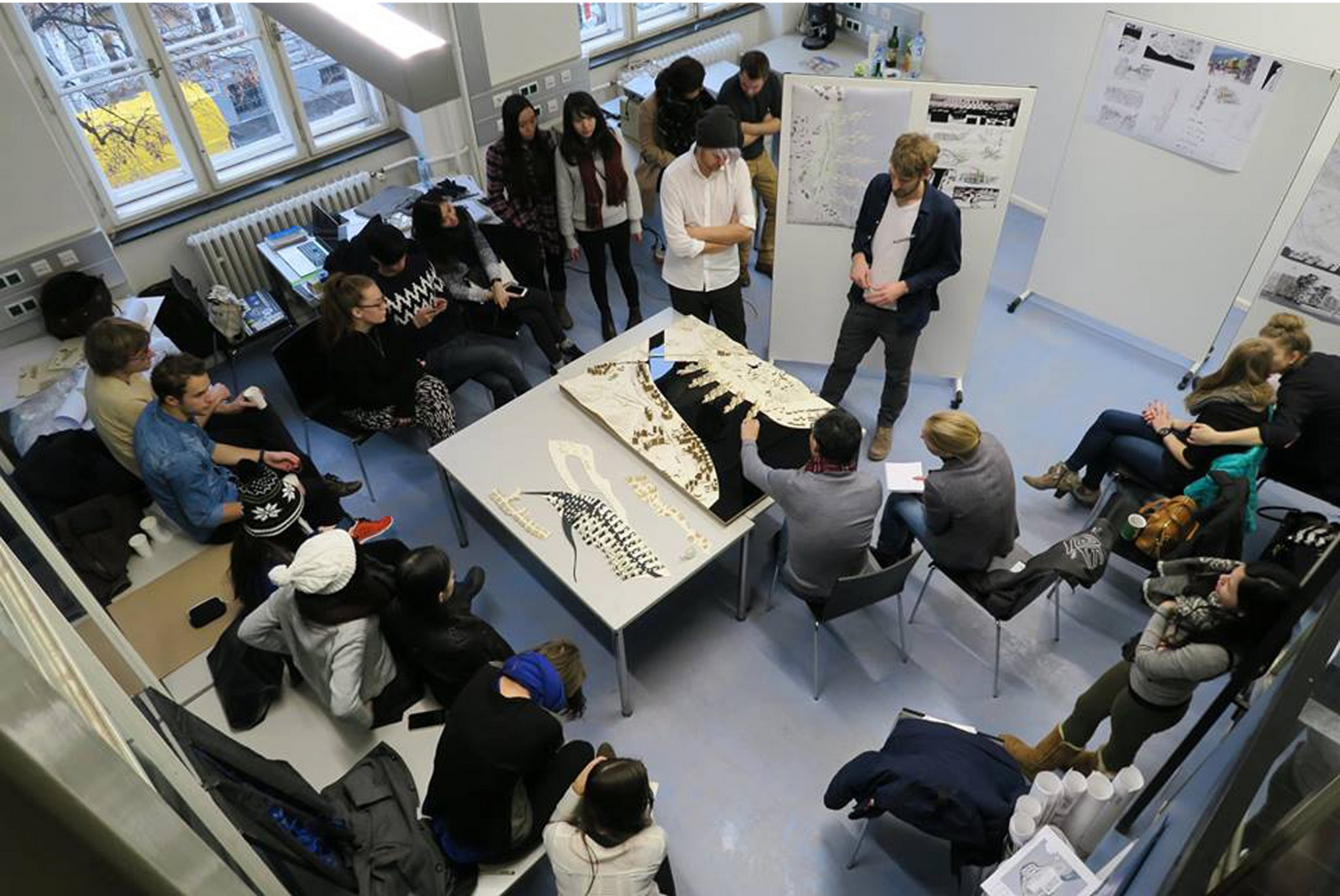 Collaborative Student Research ~ Tu graz austria school of architecture cuhk