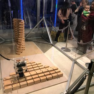 """Cable-Driven Parallel Robot"" at UABB Hong Kong"