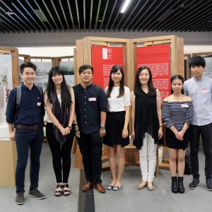 Some of our participating students at the Liveability by Design Studio Exhibition
