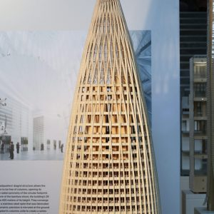 Model of China Resources Headquarters