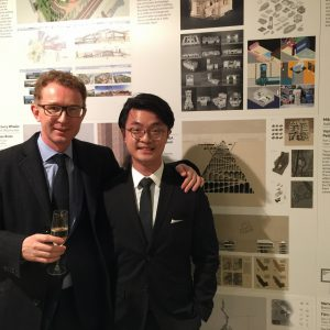 Thomas Chee and his thesis advisor Prof. Peter Ferretto