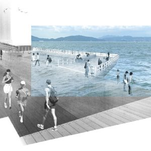 Water's Interface and Public Spaces by Jennifer Ho